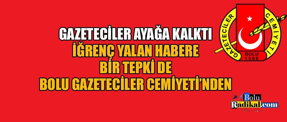BİR TEPKİ DE BGC'DEN!