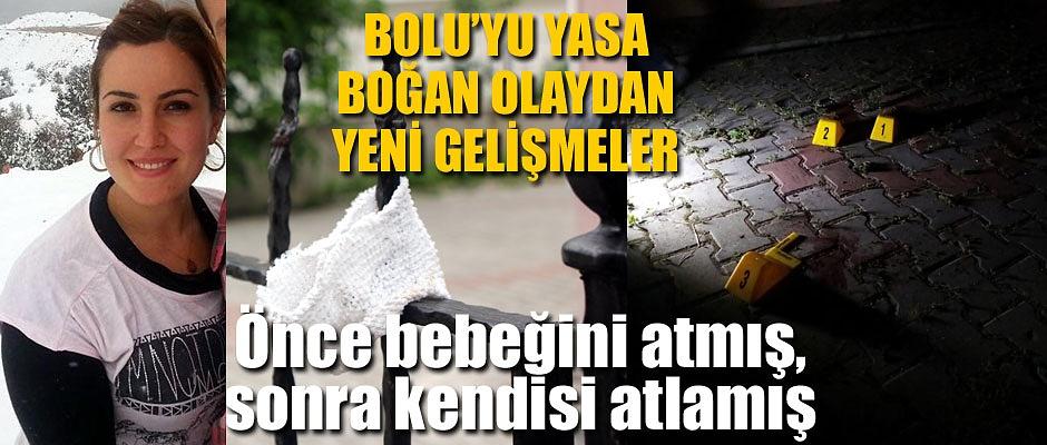 ÖNCE BEBEĞİNİ ATMIŞ, SONRA KENDİSİ ATLAMIŞ!