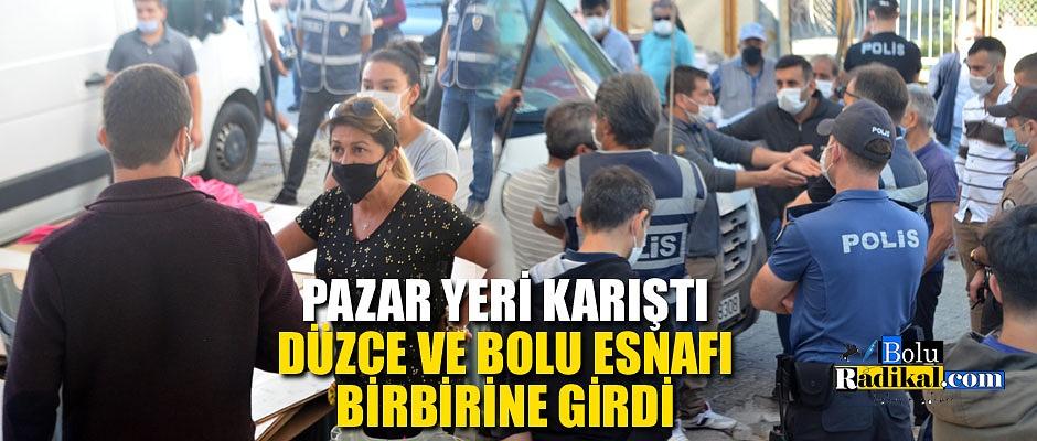 PAZAR YERİ KARIŞTI...