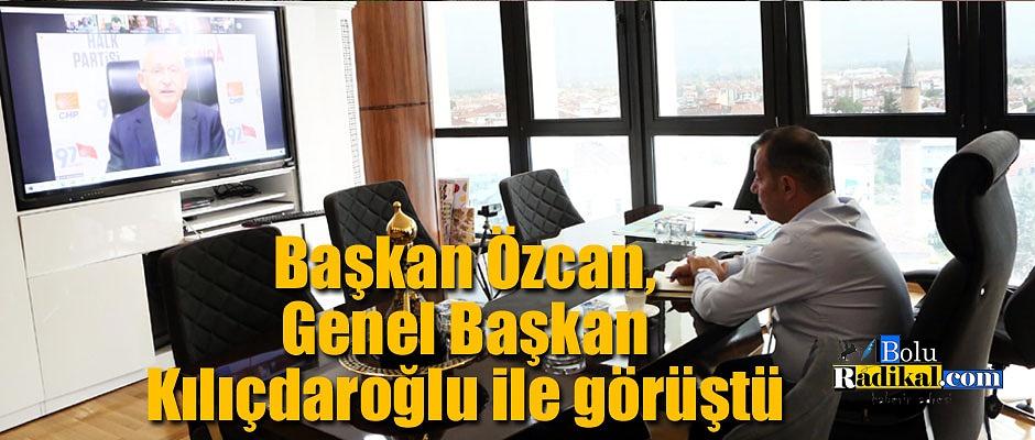 Başkan Özcan, Genel Başkan Kılıçdaroğlu ile görüştü