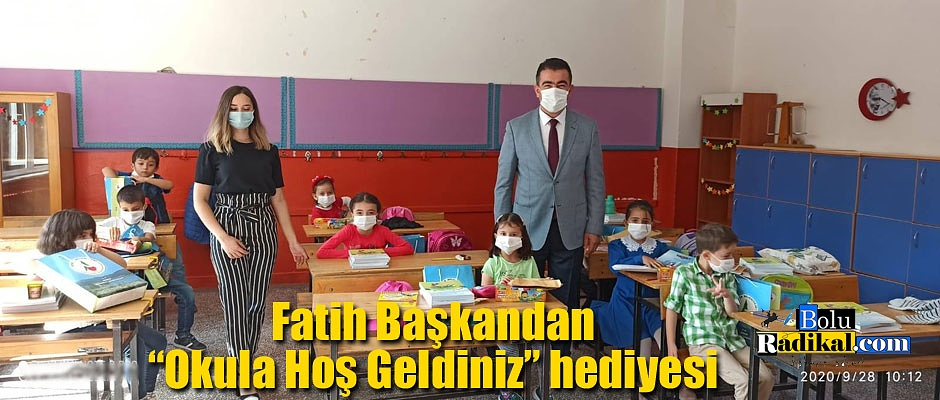 Fatih Kavak'tan 1. sınıf öğrencilerine ziyaret