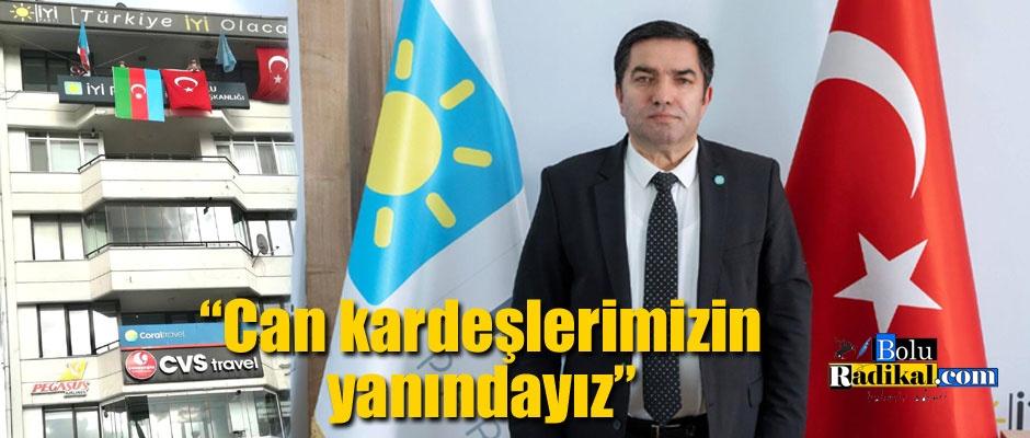 """""""Karabağ Türk yurdudur, öyle kalacaktır"""""""