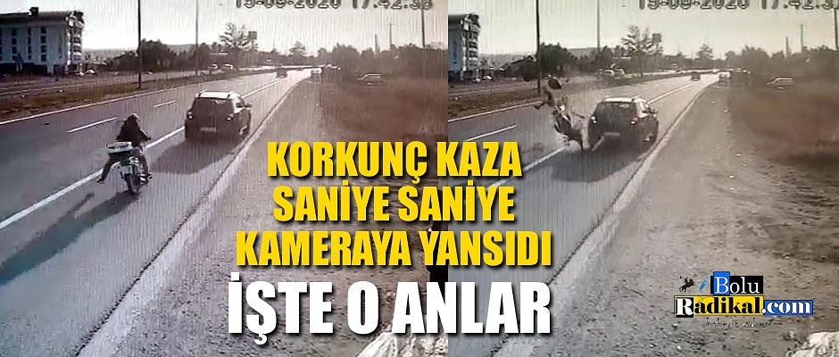 KORKUNÇ KAZA ANLARI KAMERADA...