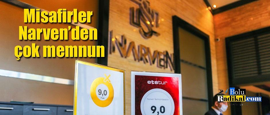 Narven 'Yüksek Misafir Memnuniyeti Sertifikası' Aldı
