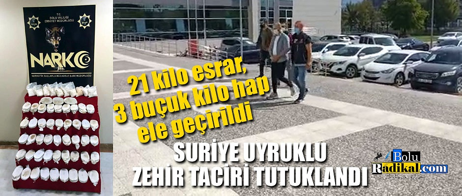 ZEHİR TACİRİ YAKALANDI...