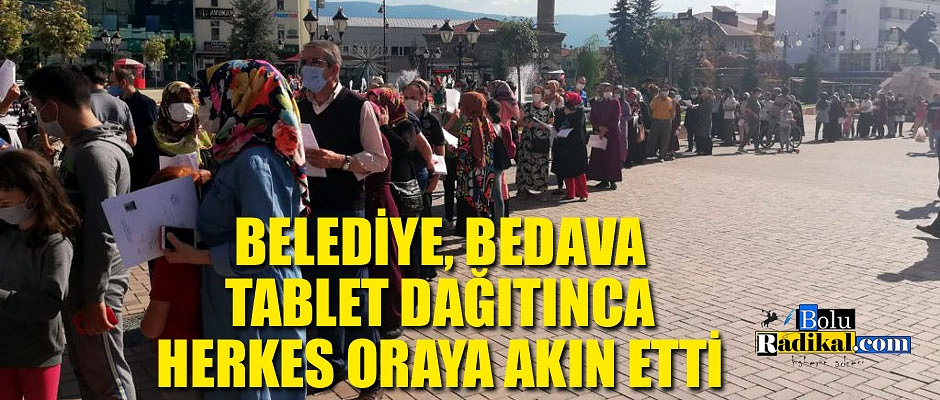 HERKES BELEDİYEYE AKIN ETTİ...