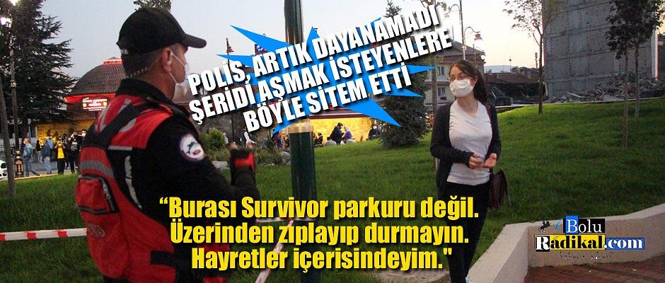 İNTİHAR GİRİŞİMİ SIRASINDA POLİS BÖYLE SİTEM ETTİ..
