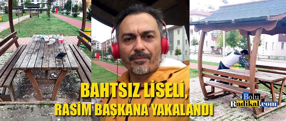 KİRLİ BIRAKTIĞI MASADA KİMLİĞİNİ UNUTUNCA...