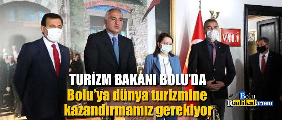 KÜLTÜR VE TURİZM BAKANI BOLU'DA...