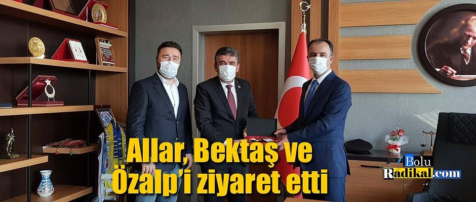 Mustafa Allar'dan Bolu Adliyesine ziyaret