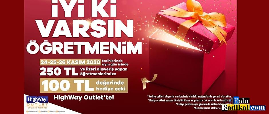 HIGHWAY'DEN ÖĞRETMENLERE ÖZEL ÇEKİLİŞ...