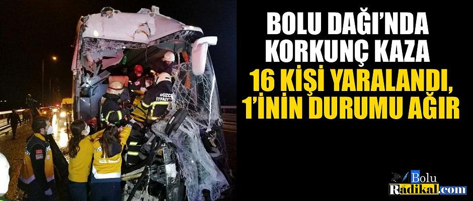 BOLU DAĞI'NDA CAN PAZARI...