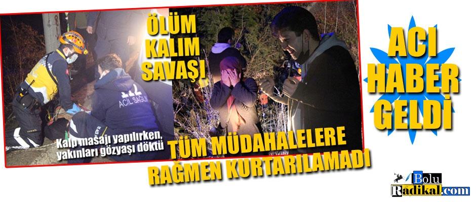 MAALESEF KURTARILAMADI...