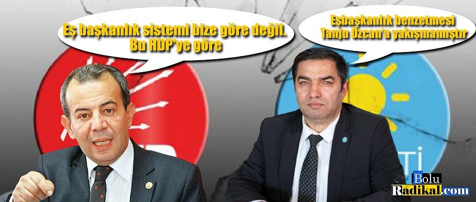 CHP VE İYİ PARTİ ARASINDA İPLER GERİLİYOR...