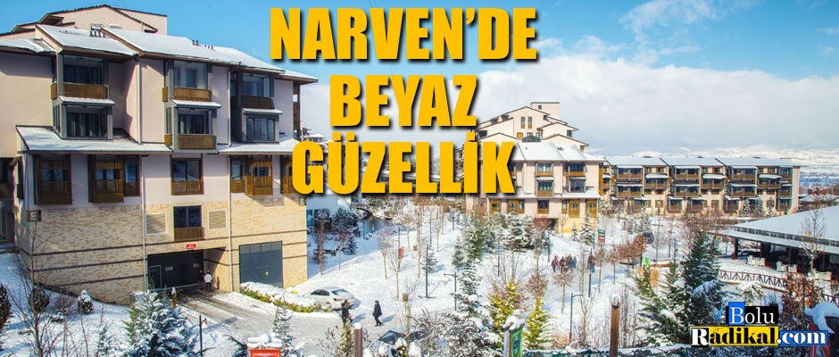 NARVEN'DE BEYAZ GÜZELLİK...