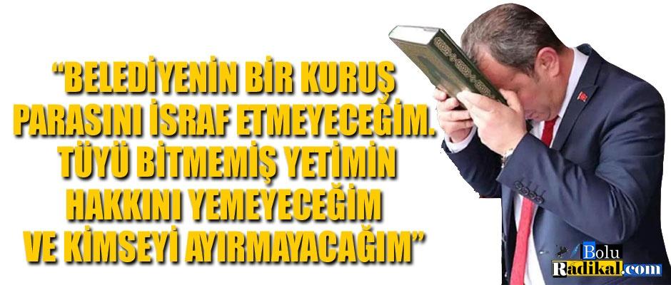 YEMİNİNİ EVİNİN KAPISINA ASTIRMIŞ...