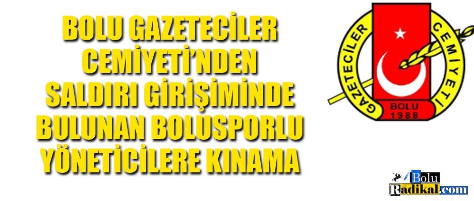 BGC'DEN BOLUSPORLU YÖNETİCİLERE TEPKİ...