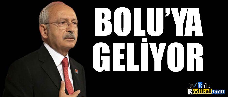 BOLU'YA GELİYOR...