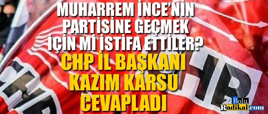 KAZIM KARSU'DAN İSTİFA AÇIKLAMASI...