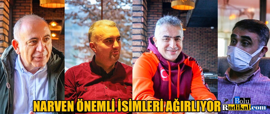 NARVEN, TANINMIŞ SİMALARI AĞIRLIYOR...
