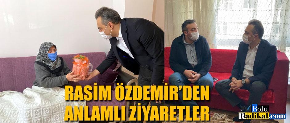 Rasim Özdemir'den anlamlı ziyaret