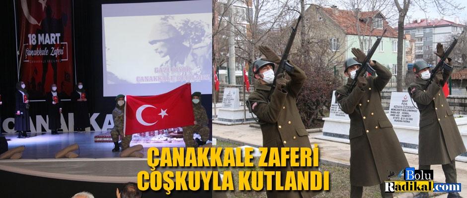 ÇANAKKALE ZAFERİ KUTLANDI...