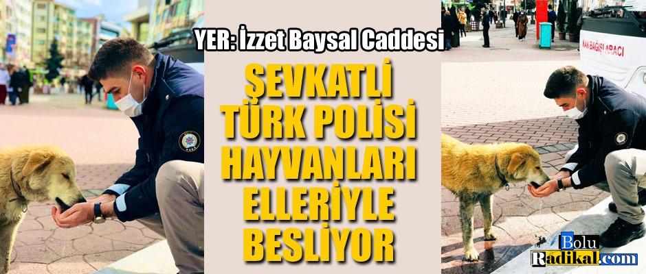 POLİSTEN ŞEVKAT ELİ..