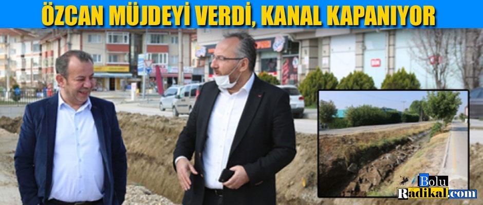 BAŞKAN ÖZCAN MÜJDEYİ VERDİ...