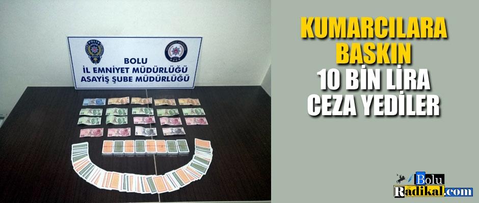 KUMARCILARA POLİS BASKINI...