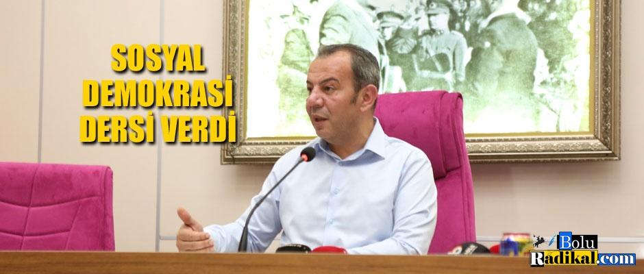 SOSYAL DEMOKRASİ DERSİ...