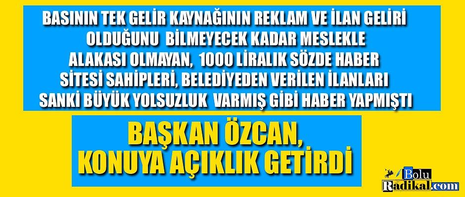 TANJU ÖZCAN'DAN ÇAKMA GAZETECİLERE DERS...