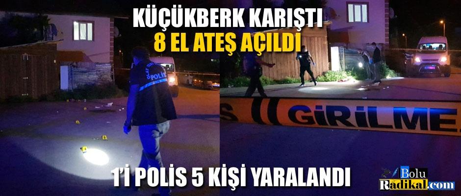 BIÇAKLI TÜFEKLİ KAVGA: 1'İ POLİS 5 YARALI...