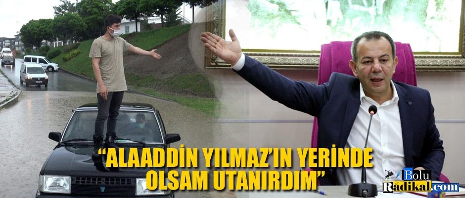 ESKİ BAŞKANI SUÇLADI...