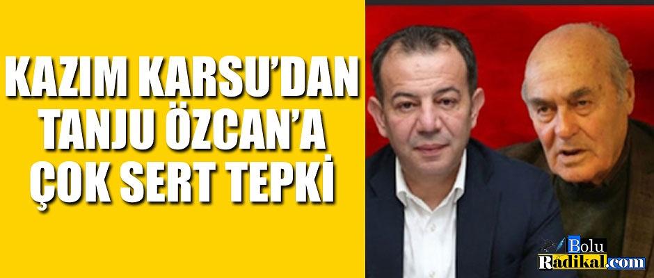 BİR TEPKİ DE CHP İL BAŞKANINDAN...