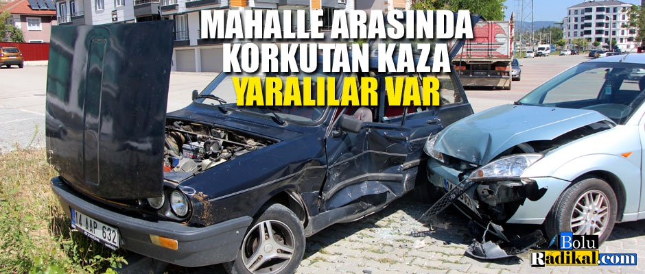MAHALLE ARASINDA KORKUTAN KAZA...