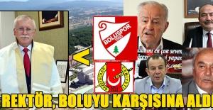 REKTÖR'E TEPKİLER ARKA ARKAYA GELDİ...