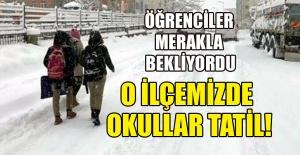 OKULLAR TATİL!