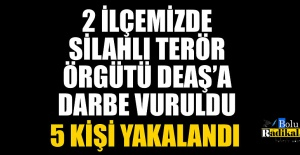 TERÖR ÖRGÜTÜ DEAŞ#039;A DARBE