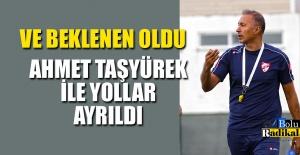 AHMET TAŞYÜREK GÖNDERİLDİ...