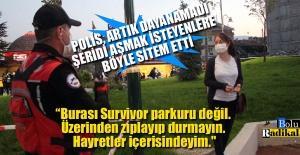 İNTİHAR GİRİŞİMİ SIRASINDA POLİS...