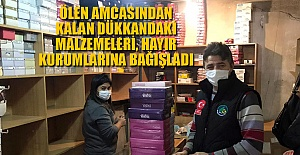 AMCASINDAN KALAN DÜKKANDAKİ EŞYALARI...