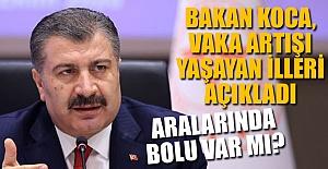 BOLU, ARTIŞ YAŞAYAN İLLER ARASINDA...