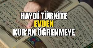 ONLİNE KUR'AN-I KERİM KURSU BAŞLIYOR