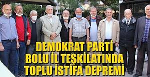 DEMOKRAT PARTİ#039;DE TOPLU İSTİFA...