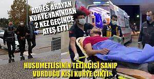 VURULMA KORKUSUNDAN KURYEYİ VURDU...